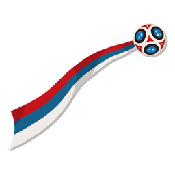 Football world cup logo russia 2018