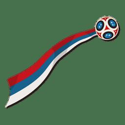 Logotipo da copa do mundo de futebol na Rússia 2018