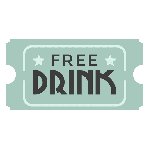 free drink ticket transparent png