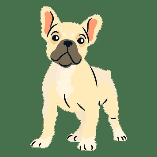 Cachorro de bulldog franc?s