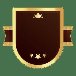 Emblema dourado