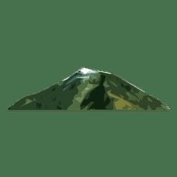 Montaña de hierba