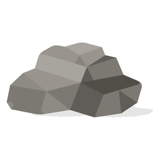 Gravel rock illustration Transparent PNG