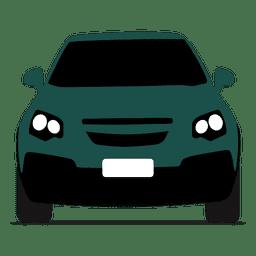 Vista frontal de Hatchback