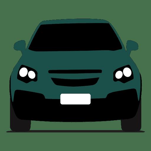 Hatchback vista frontal Transparent PNG