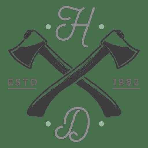 Logo Hatchets Transparent PNG