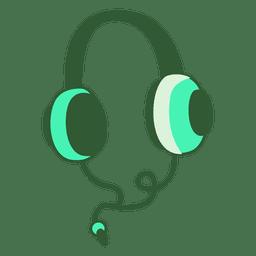 Ilustración de auriculares