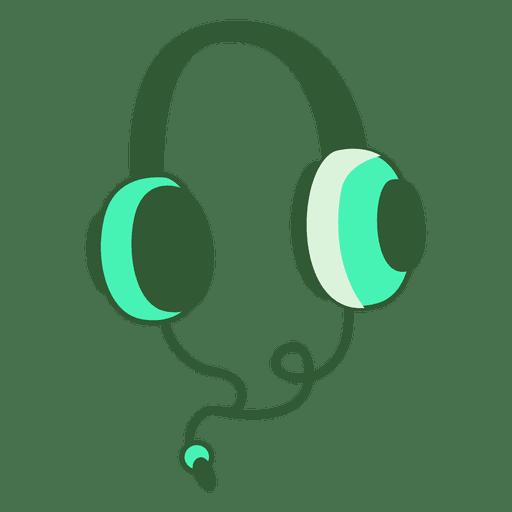 Ilustración de auriculares Transparent PNG