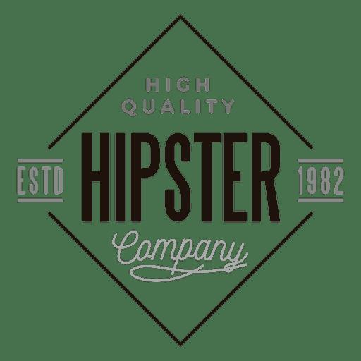 Logotipo da empresa Hipster Transparent PNG