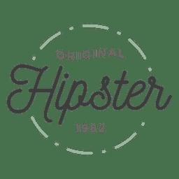 Logo de hipster