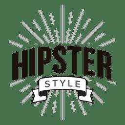 Hipster-Stil-Logo