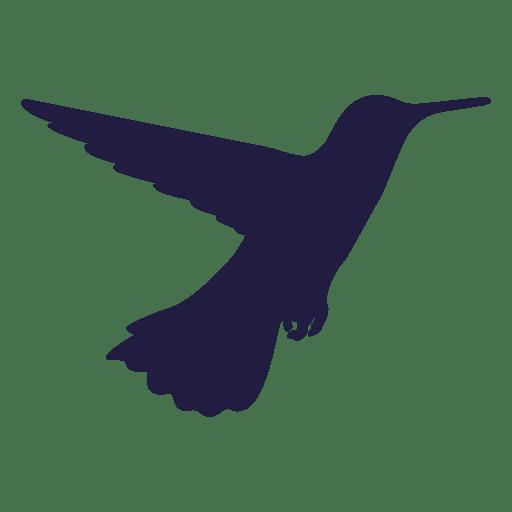 Hummingbird feeding silhouette Transparent PNG
