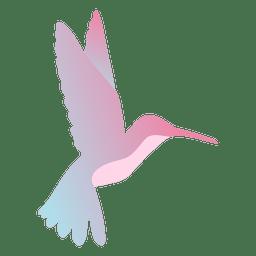 Colibrí flotando