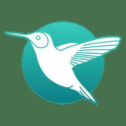 Logotipo de colibrí