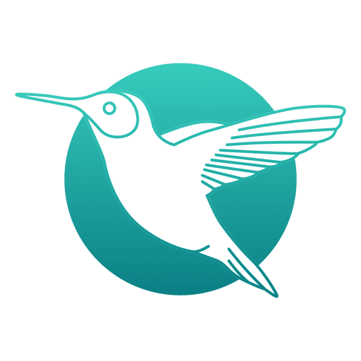 Hummingbird logo Transparent PNG