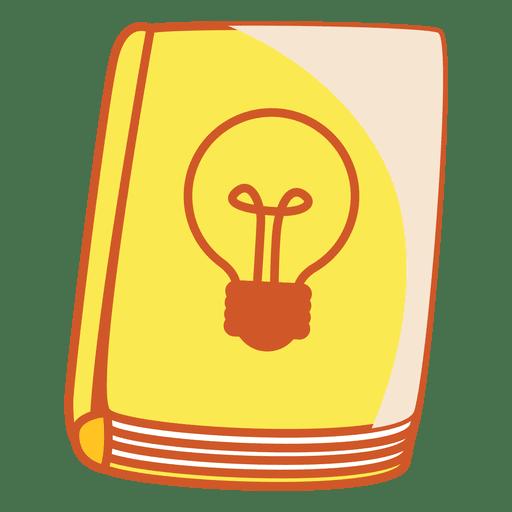 Light bulb book cover