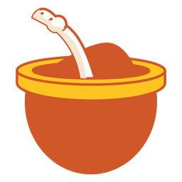 Icono de bebida de mate