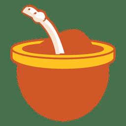 Icono de bebida mate