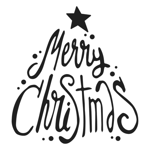 merry christmas badge transparent png
