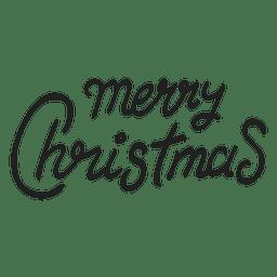 Frohe Weihnachten Zeichen