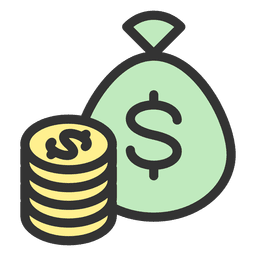 Monedas de bolsa de dinero