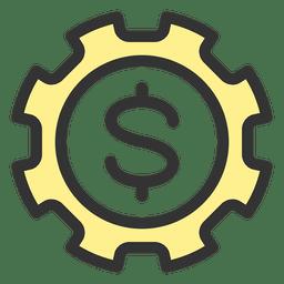 Engranaje de dinero