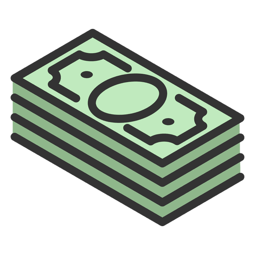 Money wad Transparent PNG