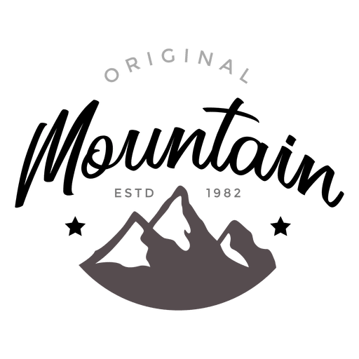 Mountain logo Transparent PNG