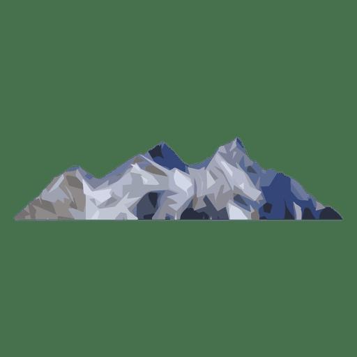 Maciço montanhoso Transparent PNG