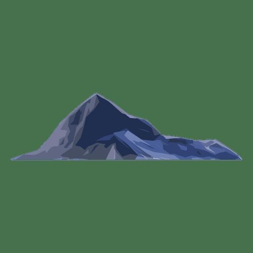 pico de la montaña Transparent PNG