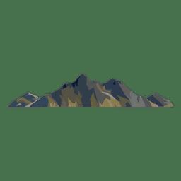 Cumbre de la montaña