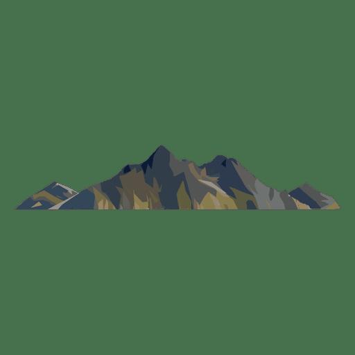 Cumbre de la montaña Transparent PNG