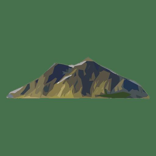 cima de la montaña Transparent PNG
