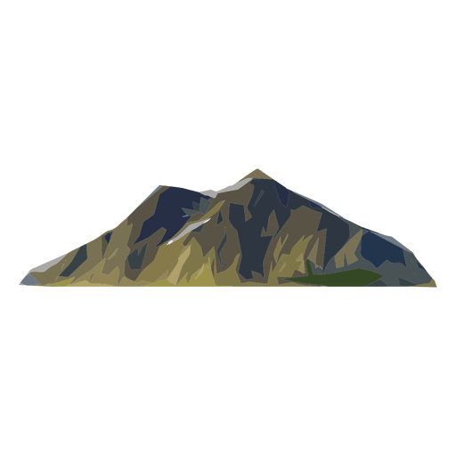 Mountain top Transparent PNG
