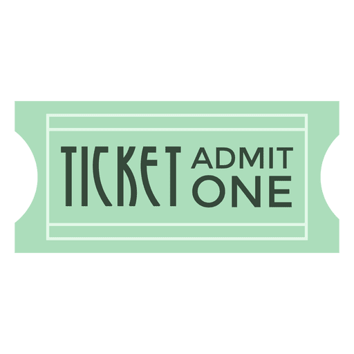 Movie ticket Transparent PNG
