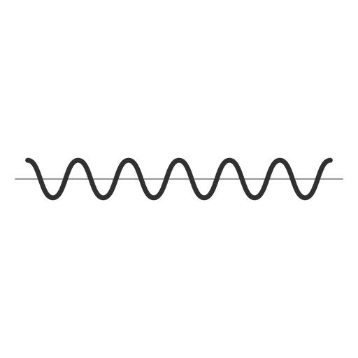 Music wave icon Transparent PNG
