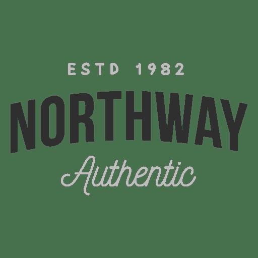 Logo auténtico de Northway Transparent PNG