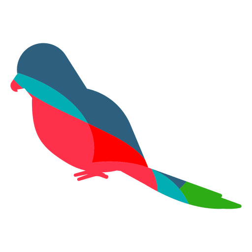 Papagei abstrakte Farbe Transparent PNG