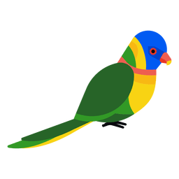 Ilustração papagaio