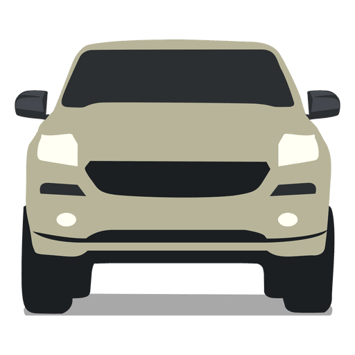 Pickup front view