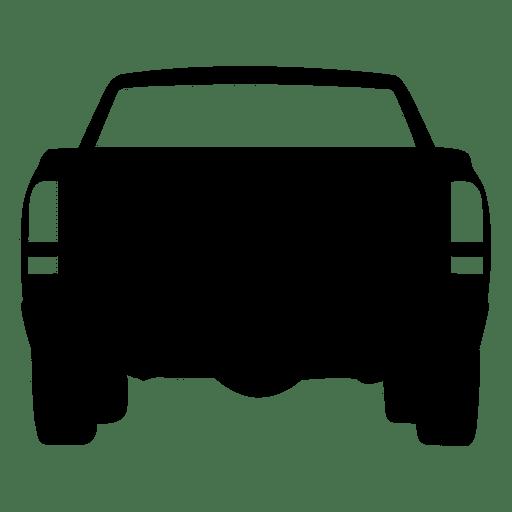 Silhueta de vista traseira de captador Transparent PNG