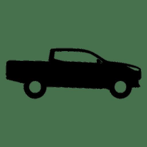 Recogida silueta de vista lateral Transparent PNG
