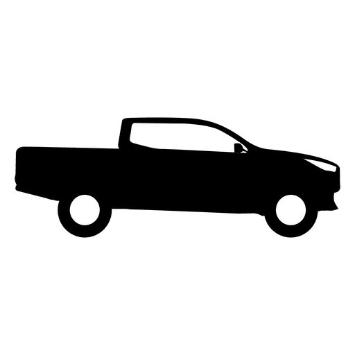 Silhueta de vista lateral de captador Transparent PNG