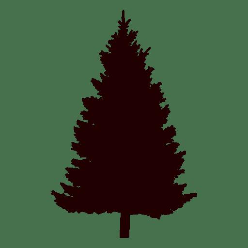 Pine tree silhouette pine tree