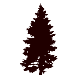 Vector de árbol de pino