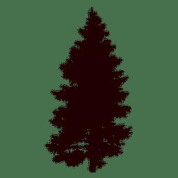 Vetor de árvore de pinheiro