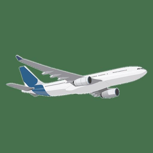 Plane ascending