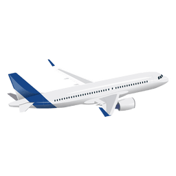 Flugzeug im Flug