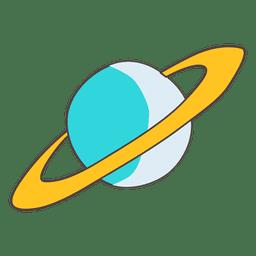 Ilustração do planeta
