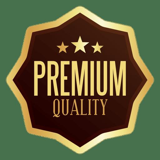 premium quality badge transparent png svg vector